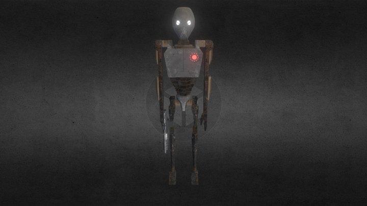 Commando Droid BX Series 3D Model