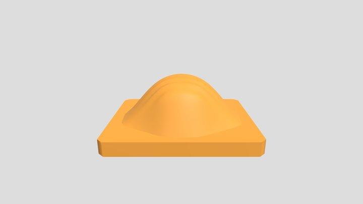 N95 Mask Lower Mold 3D Model