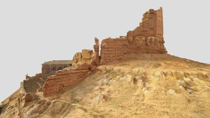 Castillo de Monreal de Ariza Estado Incial 3D Model