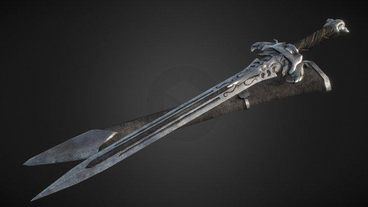 Beyond Skyrim: Silver Sword 3D Model