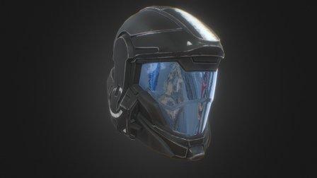 Helljumper Helmet 3D Model