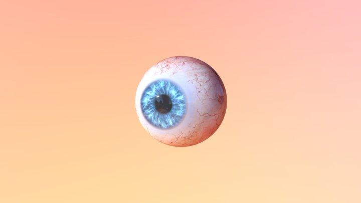 Eye Blend 3D Model