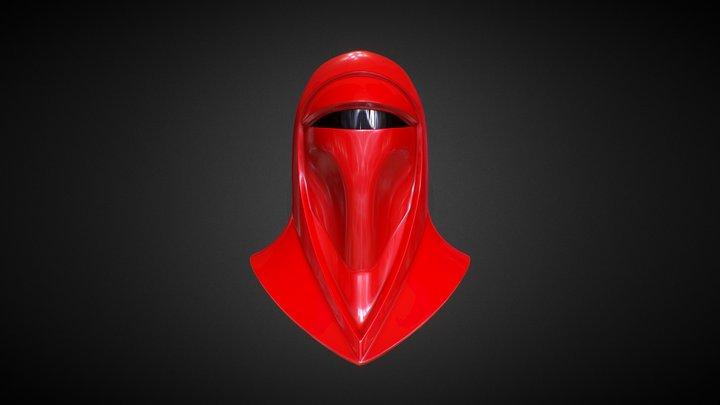 Royal Guard Helmet 3D Model