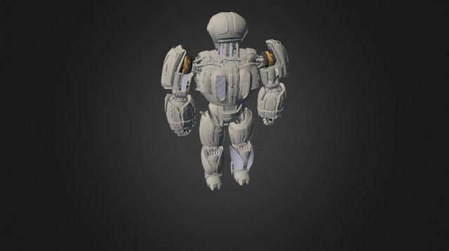 Modelo Robot Tutorial 3D Model