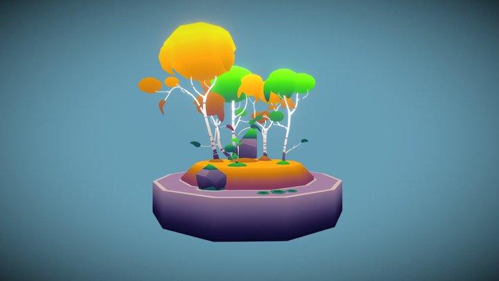 Bouleau 3D Model