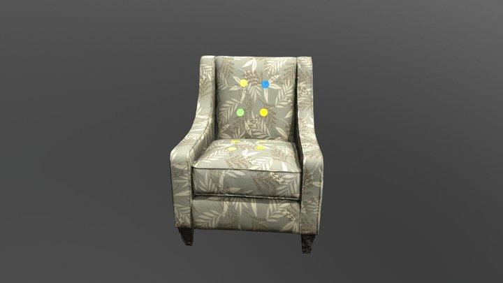 KV Chair 003 Filter 01 simplified-JR smaller1 3D Model