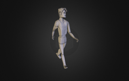 Man walking ( Part 1 ) 3D Model
