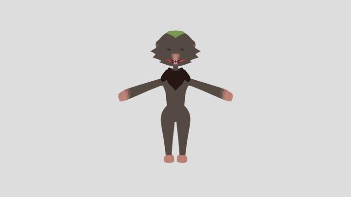 Tobo (Shrew) 3D Model