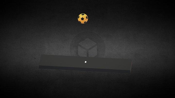 Soccer Ball Fully Rigged 3D Model