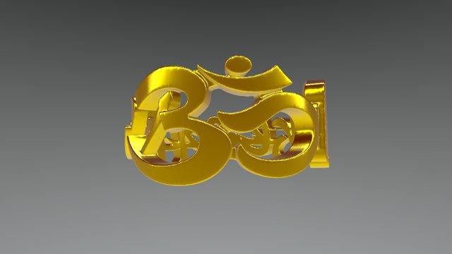 Aum ring 3D Model