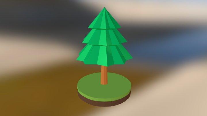 Tree Low Poly #03 3D Model