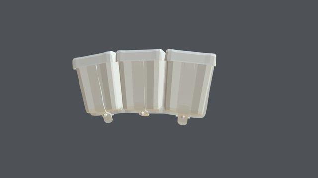 Ammo Pouch Low 3D Model