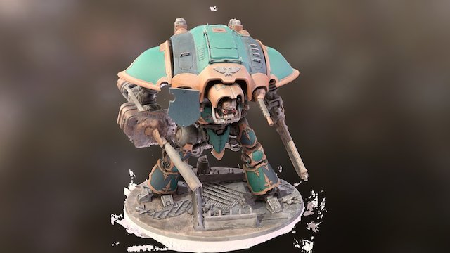 Imperial Knight V1 3D Model