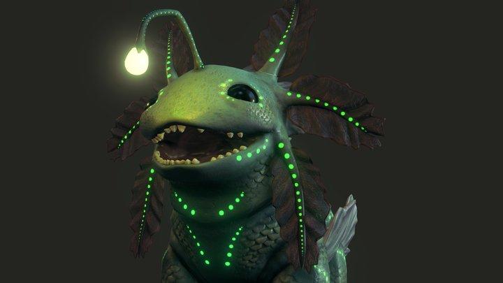 Swampy Creature 3D Model