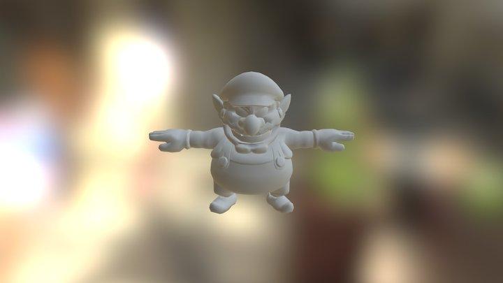 Wario 3D Model