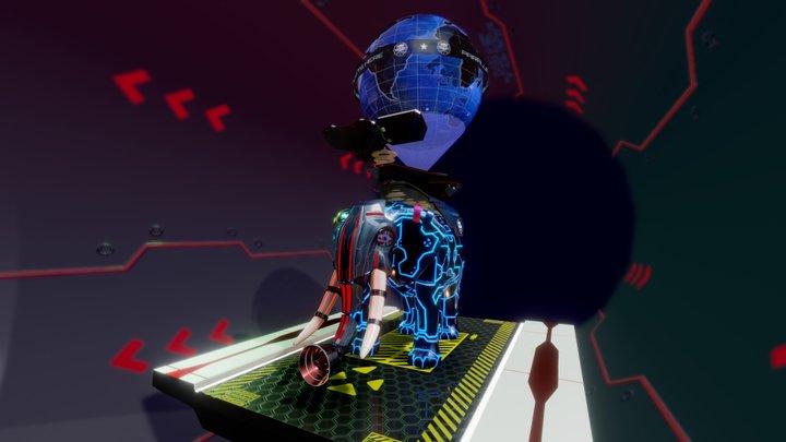 ParallelCircus: Elefunk-22R-Pro 3D Model