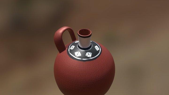 botella diaguita-inka 3D Model