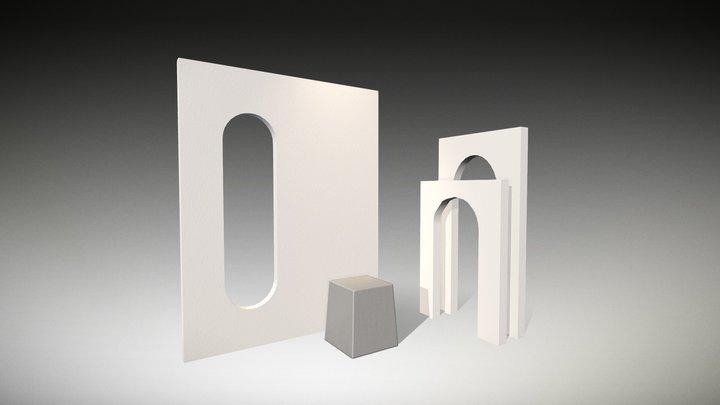 ShowRoom - Archs 3D Model