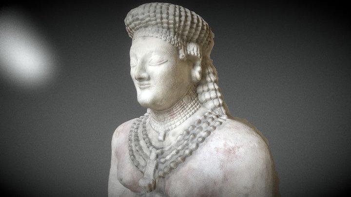 Draft Greek Statue from Louvre 3D Model
