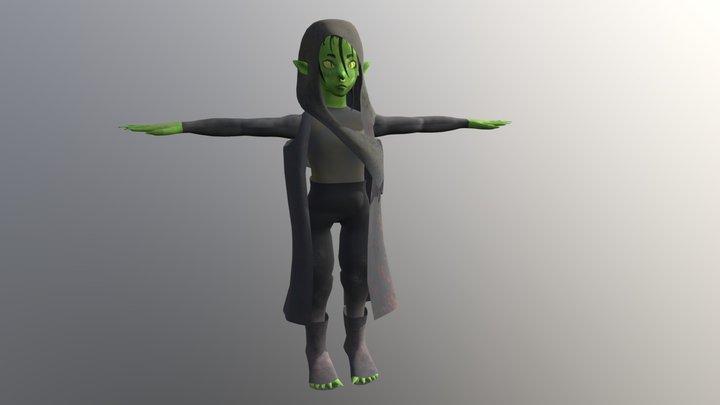 Nott The Brave 3D Model