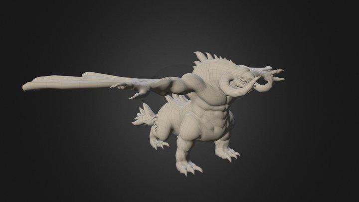 Dragon Yolugu 3D Model