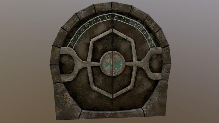 Fantasy Door 3D Model