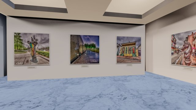 Instamuseum for @d_ylangelo 3D Model