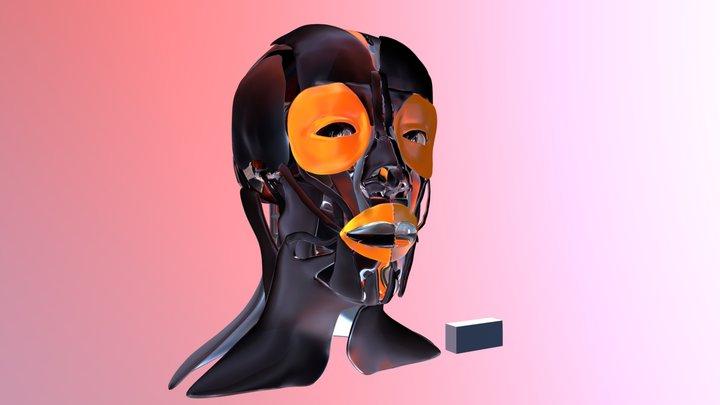 Anatomia da Face Humana: 3D (CICEM-AFH:3D) 3D Model