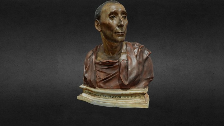 Nicollo da Uzzano, Donatello 3D Model