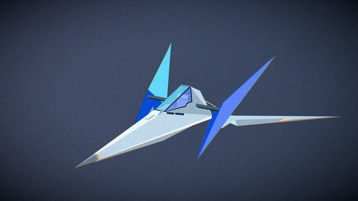 Snes Arwing - Starfox 3D Model