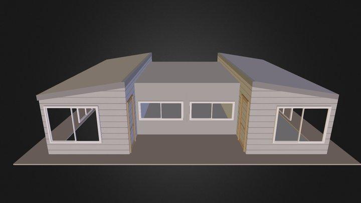 1 dormitorio 40 m2 3D Model