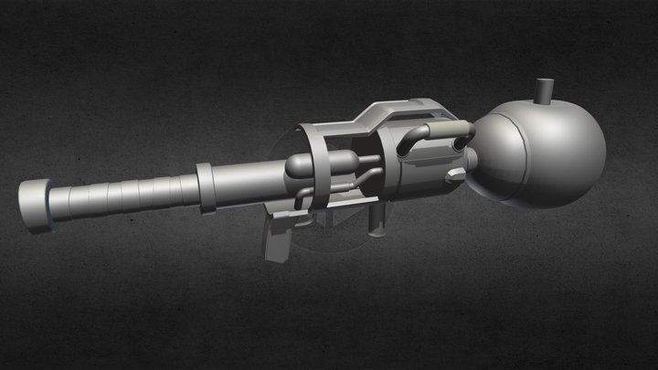 W.I.P Fortnite Pumpkin Launcher (Halloween skin) 3D Model
