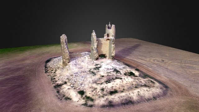 Caudilla's Castle. 3D Model