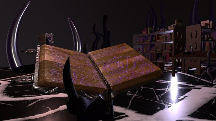 The Dark Library 3D Model