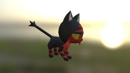 Litten (Pokemon Sun & Moon) 3D Model