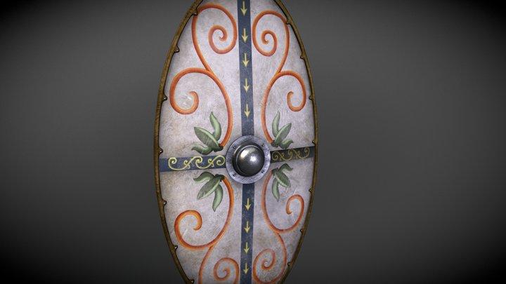 Dacian shield / Escudo dacio 3D Model