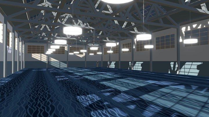 In Situ Ege Wave Carpet Immersive Visualisation 3D Model