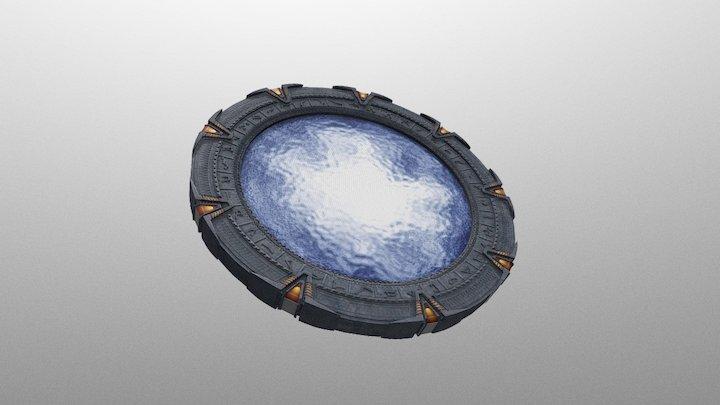 Stargate Franchise 3D Model