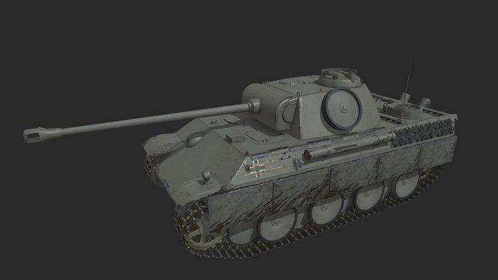 Panzerkampfwagen V Panther 3D Model