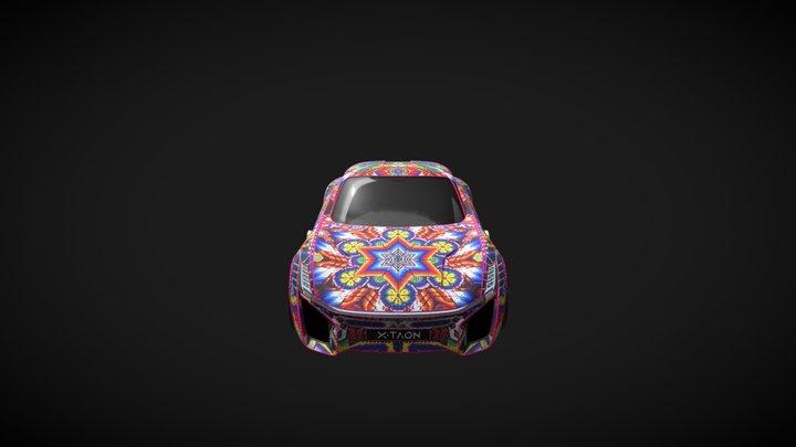 XTAON Mexican Art 3D Model