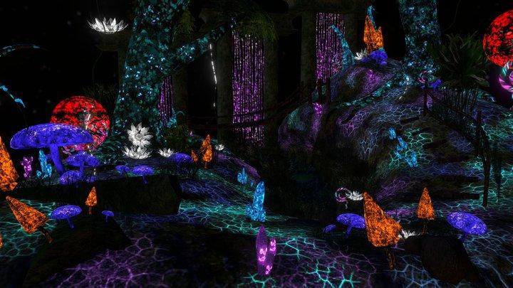 Avatar scene 3D Model