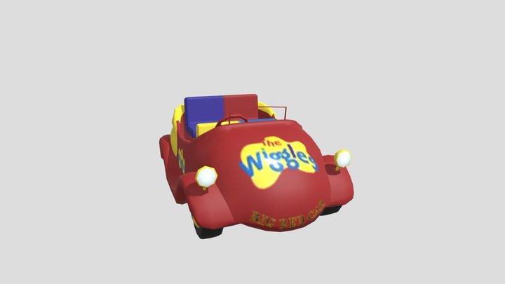 the-wiggles-big-red-car-2001-2007 3 3D Model