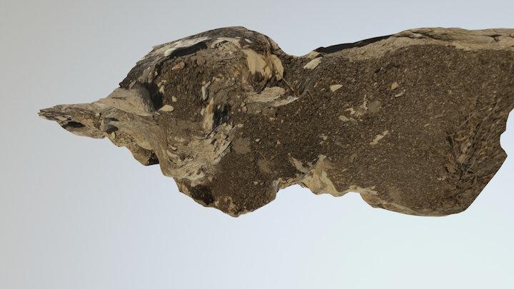 Lunada Bay cliff top 2 3D Model