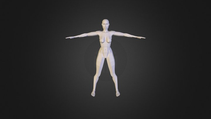 U V Checker Unwrap 3D Model