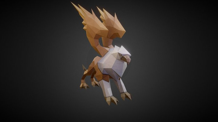 Griffin Animated 3D Model