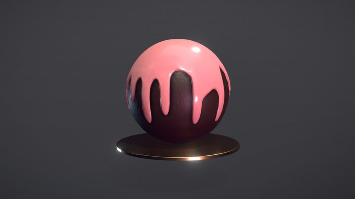 Chocolate Truffle 3D Model