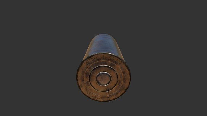 Shotgun Shell 12G 3D Model