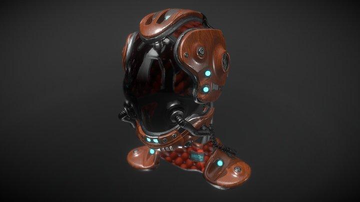 MH08 (MECHANIZAM Concept Series) 3D Model