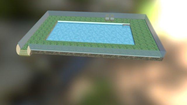 Swimming Pool 3D Model