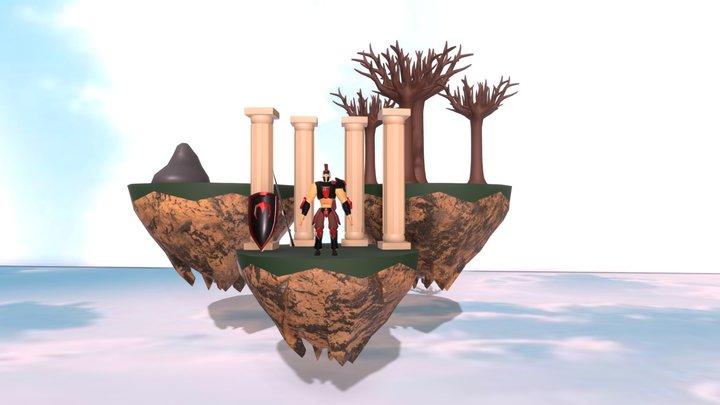 Vidar el silencioso 3D Model